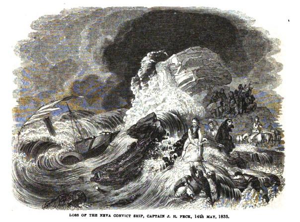 neva wreck