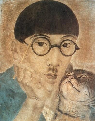 tsuguharu-foujita-self-portrait